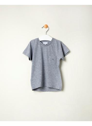 Pinolini Gri Basic Tişört Gri